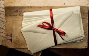 Письмо с ленточкой